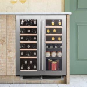 Caple-Classic-Undercounter-Dual-Zone-Wine-Cooler-Wi6232