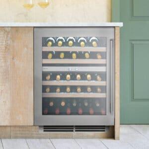 Caple-Sense-Premium-Undercounter-Dual-Zone-Wine-Cooler-Wi6150