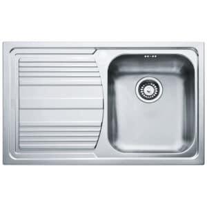 Franke-Logica-Line-LLX-611-Inox-Satinato-1B-1D-LHD-1-Bowl-Drainer-Stainless-Steel-Sinks-101.0085.773