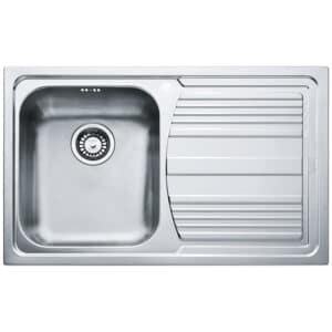 Franke-Logica-Line-LLX-611-Inox-Satinato-1B-1D-RHD-1-Bowl-Drainer-Stainless-Steel-Sinks-101.0085.772