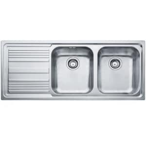 Franke-Logica-Line-LLX-621-2B-1D-LHD-2-Bowl-Drainer-Stainless-Steel-Sinks-101.0085.849
