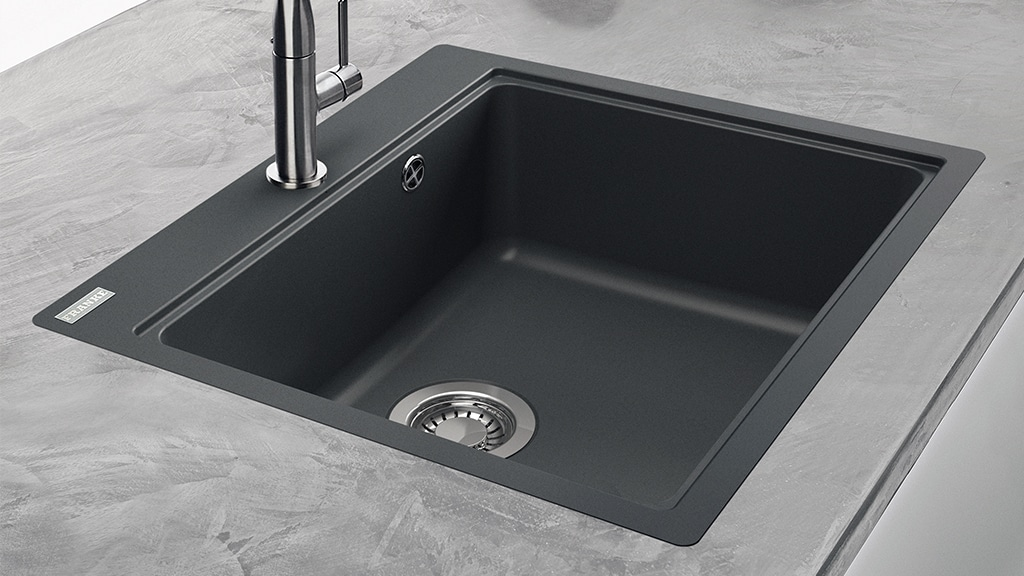Franke Maris 1 Bowl Fragranite Black Sink Inset Versatility