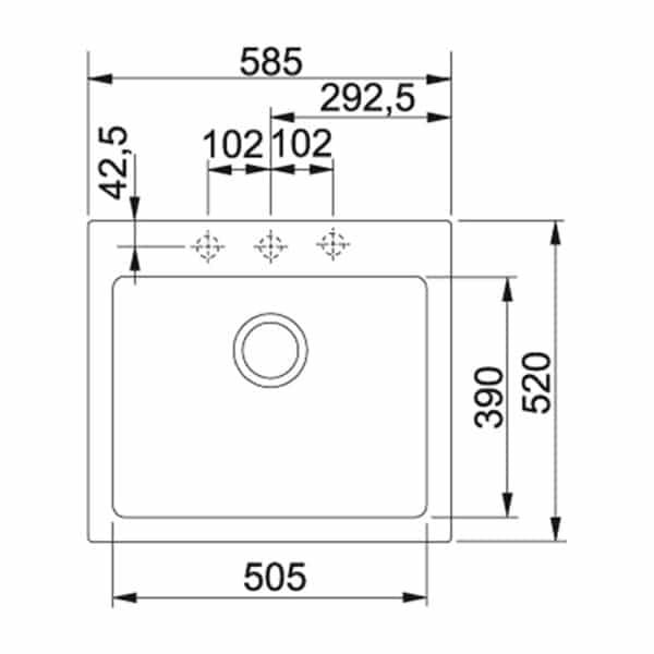 Franke-Maris-MRG-610-58-Black-1-Bowl-Coloured-Sinks-114.0567.280-b