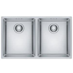 Franke-Maris-MRX-120-34-34-Inox-2-Bowl-Stainless-Steel-Sinks-122.0525.275