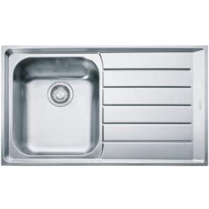 Franke-Neptune-NEX-611-Stainless-Steel-1-Bowl-Drainer-Sinks-101.0040.731