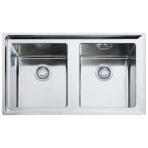 Franke-Neptune-Plus-NPX-620-Stainless-Steel-2-Bowl-Sinks-101.0068.373