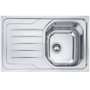Franke-Onda-Line-OLX-611-Inox-Satinato-1-Bowl-Drainer-Stainless-Steel-Sinks-101.0180.188