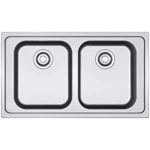 Franke-Smart-SRX-620-86-Stainless-Steel-2-Bowl-Drainer-Sinks-101.0356.666