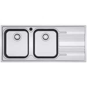 Franke-Smart-SRX-621-1.5B-1D-RHD-2-Bowl-Drainer-Stainless-Steel-Sinks-101.0356.895