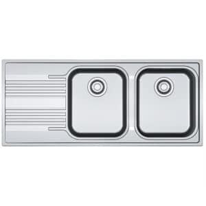Franke-Smart-SRX-621-Stainless-Steel-2-Bowl-Drainer-Stainless-Steel-Sinks-101.0356.896