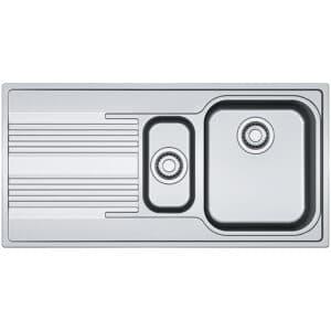 Franke-Smart-SRX-651-Inox-Satinato-1.5-Bowl-Drainer-Stainless-Steel-Sinks-101.0356.888
