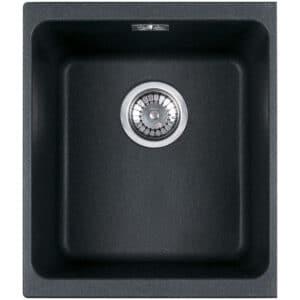 Franke-Undermounted-Kubus-KBG-110-34-Black-1-Bowl-Coloured-Kitchen-Sinks-125.0159.331