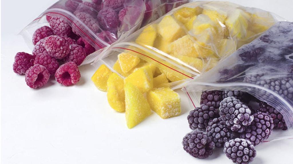 Frozen Tropical Fruit No Frost