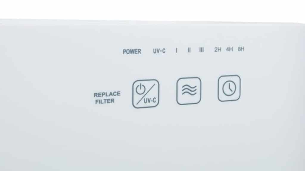 Meaco Air Purifier 47X5 Feathertouch Controls
