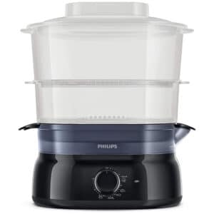 Philips Daily Collection Food Steamer Black HD9116 90