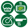 Philips Fry, Bake, Grill or Roast Icon