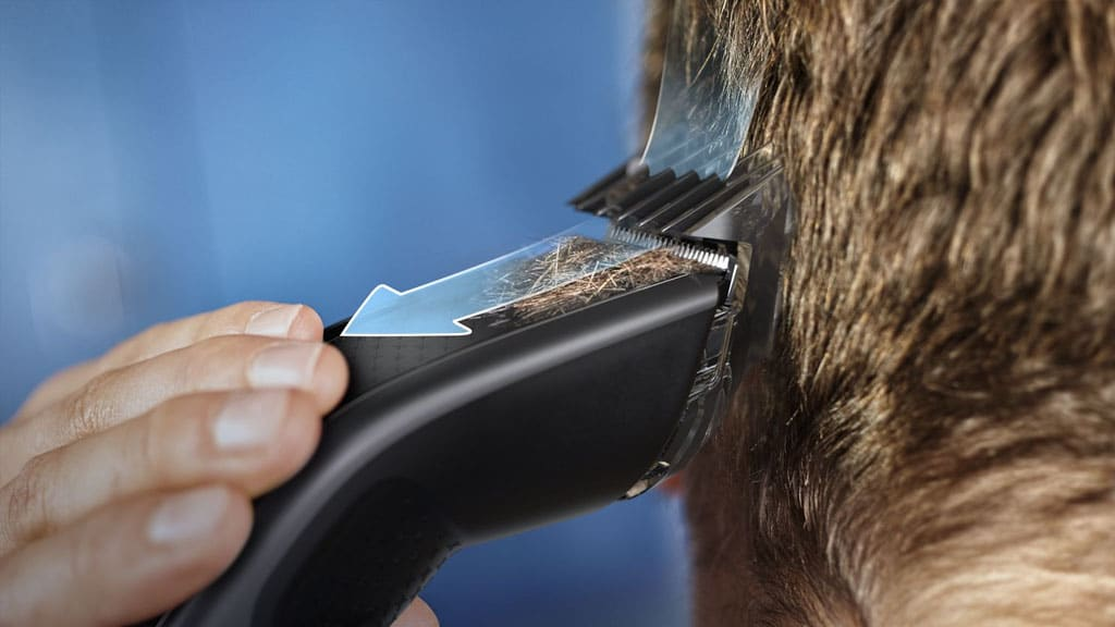 Philips Hair Clippers Trim N Flow PRO Technology