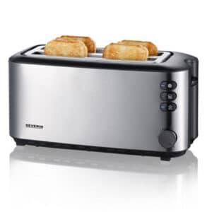 Severin Toaster 4 Slice Stainless Steel 2509