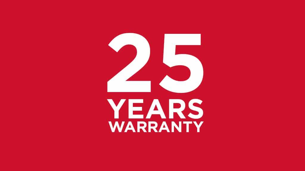 Silampos 25 Year Warranty