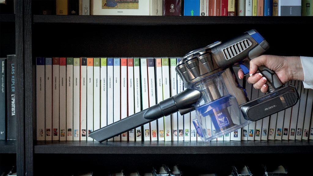 Ariete Cordless Broom Vacuum Cleaner 2757 Handheld