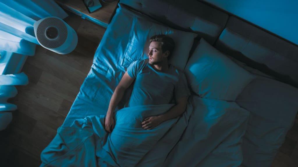 Sleep Mode - Hoover H-Purifier 300 Air Purifier 38290208
