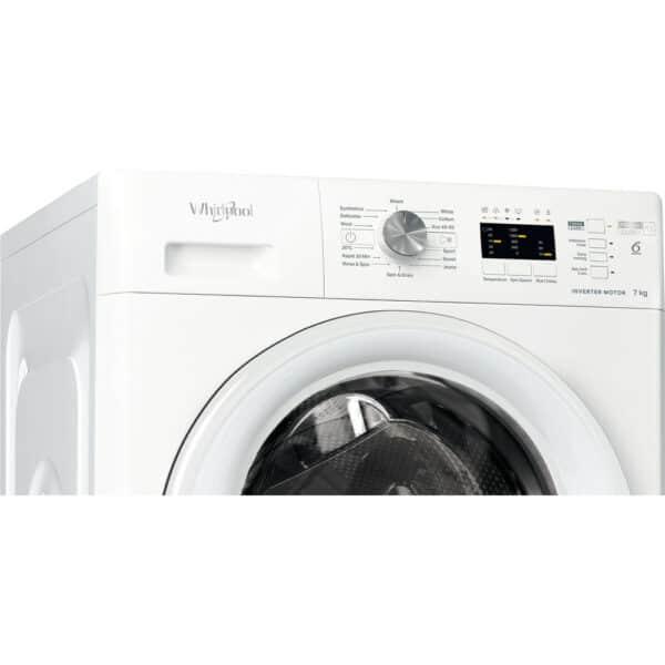 Whirlpool Freestanding Washing Machine 7kg- FFL 7238 W UK i