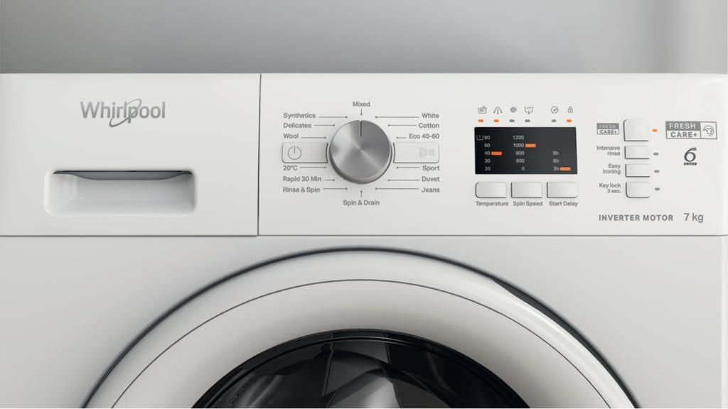 Whirlpool Washing Machine Program Progress Flowbar