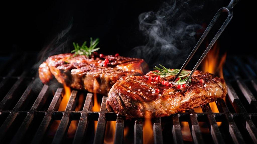Campingaz BBQ Grilled Steaks