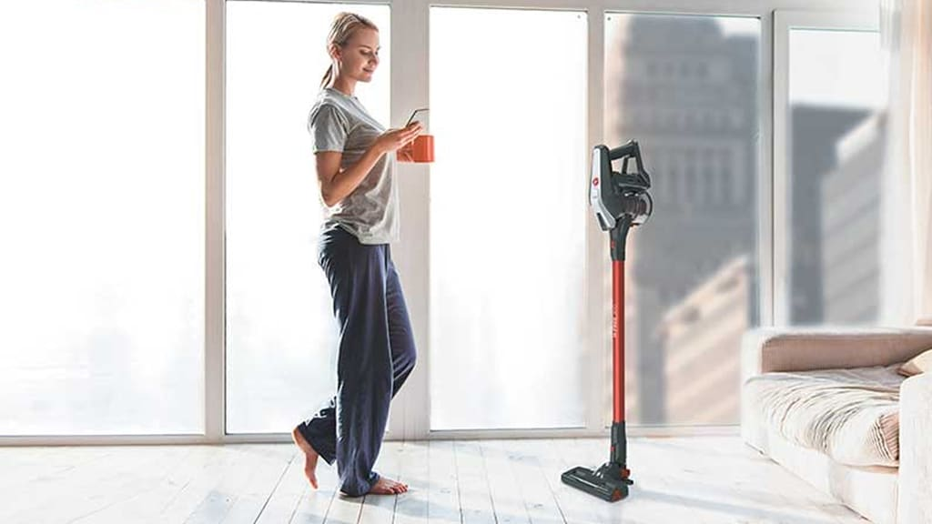 Hoover H-Free Cordless Vacuum Cleaner Park&Go