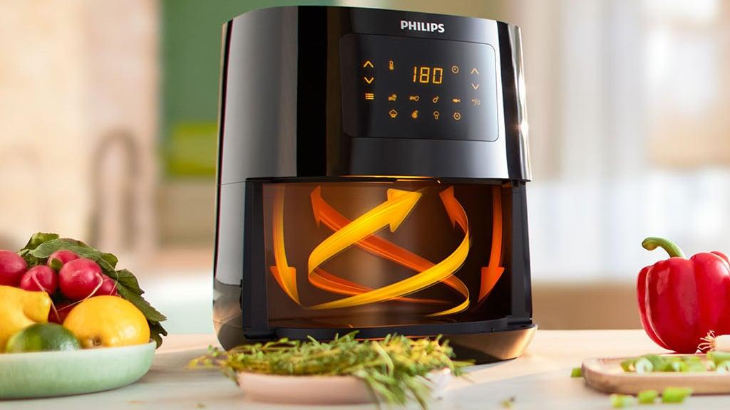 Rapid Air Technology Philips Air Fryers
