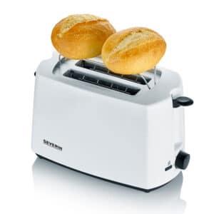 Severin Auto Toaster White 2 Slice 2286