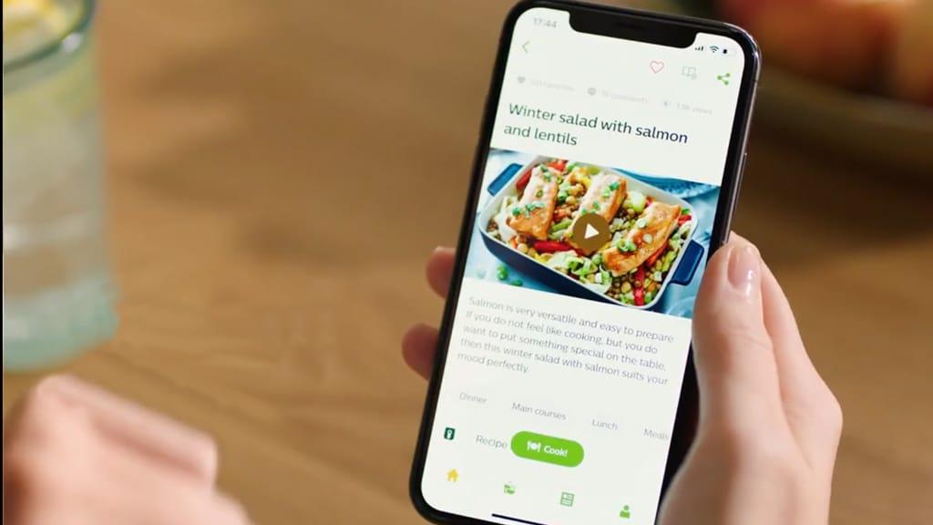 Philips NutriU App Recipe