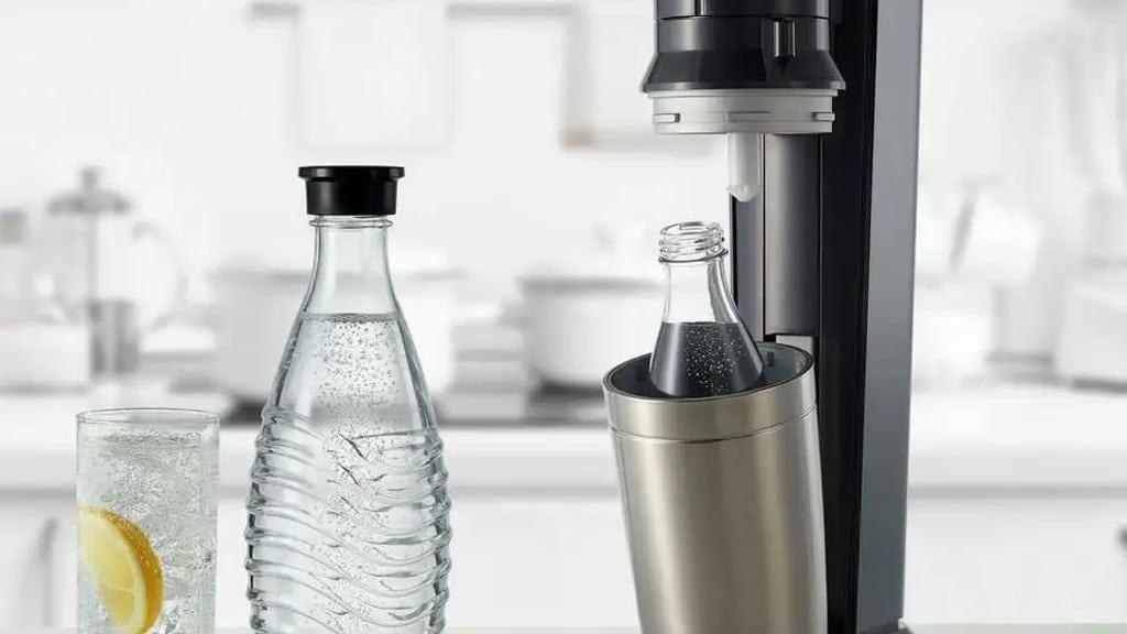 Sodastream Crystal Fizzy Drink Maker 2270100 d