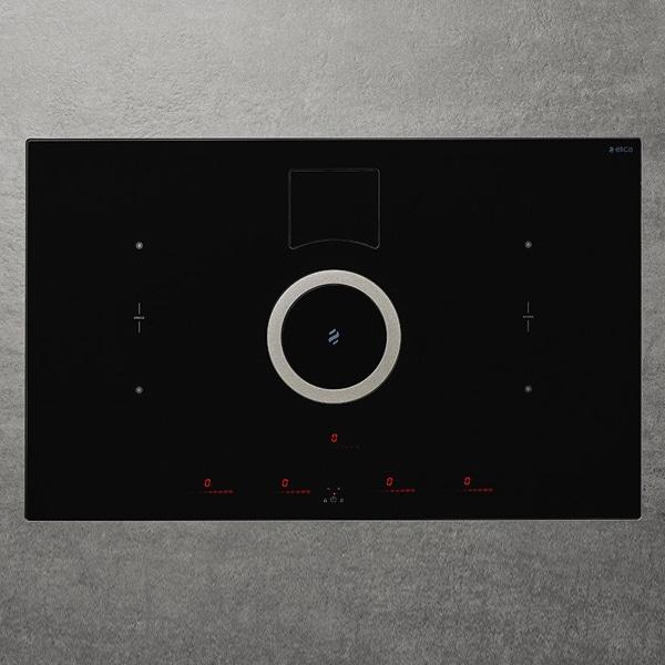 Elica Nikolatesla Switch BL-A-83 Aspiration Hob PRF0146212 -a
