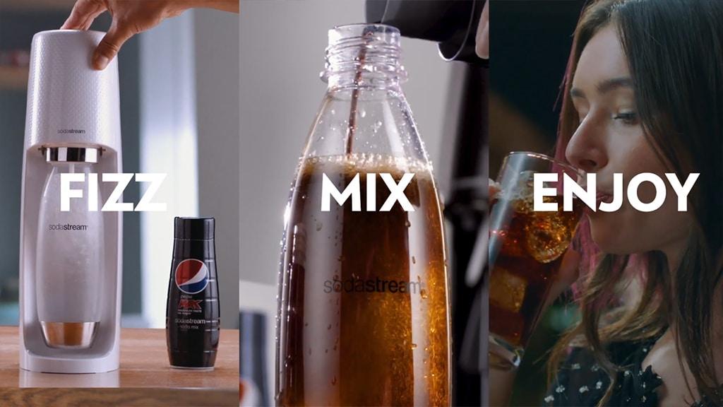 Sodastream How to Mix