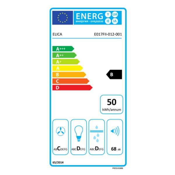 Energy Label - Elica ERA S Built In Kitchen Hood PRF0142886